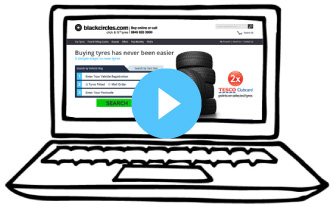 Watch our video on how to order your tyres through Blackcircles.com