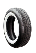 American Classic Car Tyre (70MM White Wall)