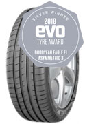 Goodyear Eagle F1 Asymmetric 3 Car Tyre