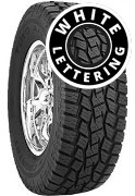 Toyo Open Country All Terrain - Outline White Lettering