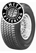 Bridgestone Dueler H/T 689 - Raised Outline White Lettering