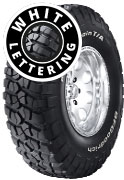 BF Goodrich Mud Terrain T/A KM2 - Raised White Lettering