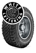 BF Goodrich All Terrain T/A KO2 - Raised White Lettering 4 x 4 Tyre